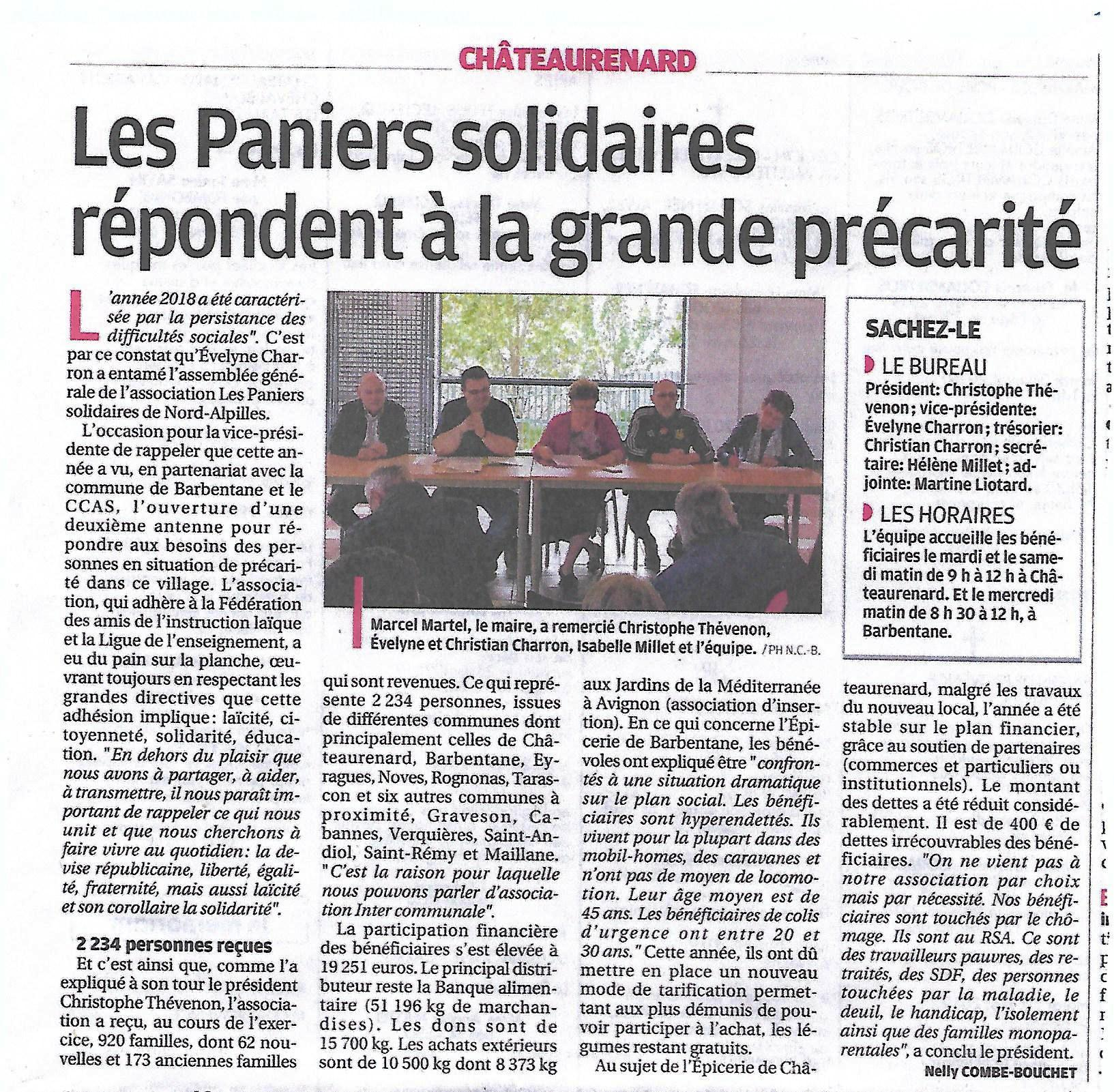 Château Paniers solidaires